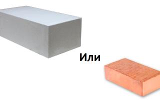 Что лучше кирпич или газоблок, сколько кирпичей заменят газоблок
