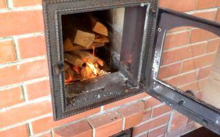 Как правильно топить новую печь из кирпича