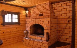 Кирпичная печь для бани: реальность или роскошь