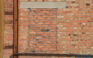 Как заложить проем в стене кирпичом, инструкция