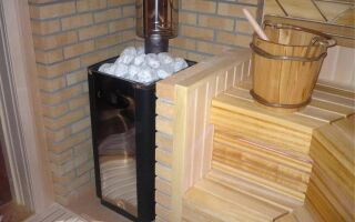 Кирпичные трубы к металлическим печам бани, как выложить