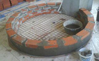 Ванна из кирпича и плитки своими руками, инструкция