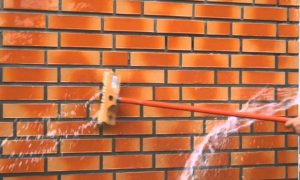 Как очистить кирпич от цемента