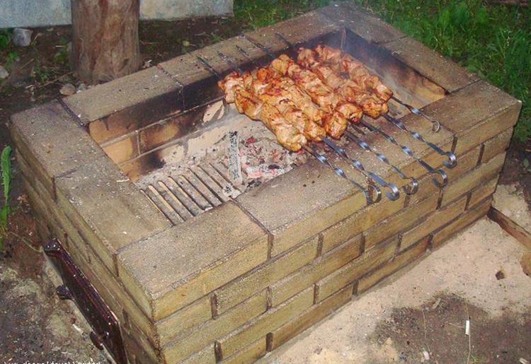 печь из кирпича