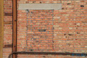 Как заложить проем в стене кирпичом