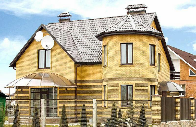 дом из жёлтого кирпича