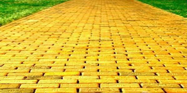 жёлтый кирпич, дорожка
