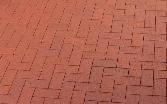 Кирпич тротуарный